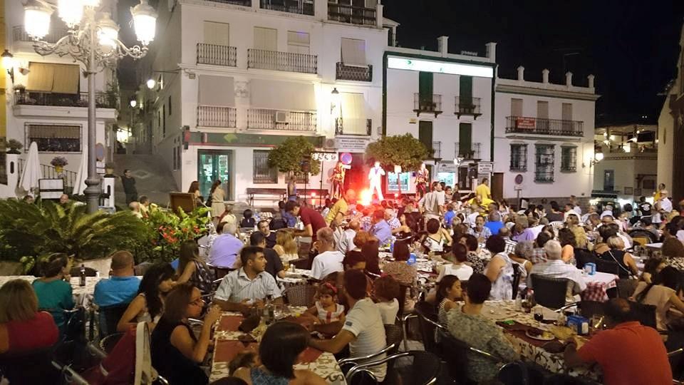Music In Competas Plaza Almijara